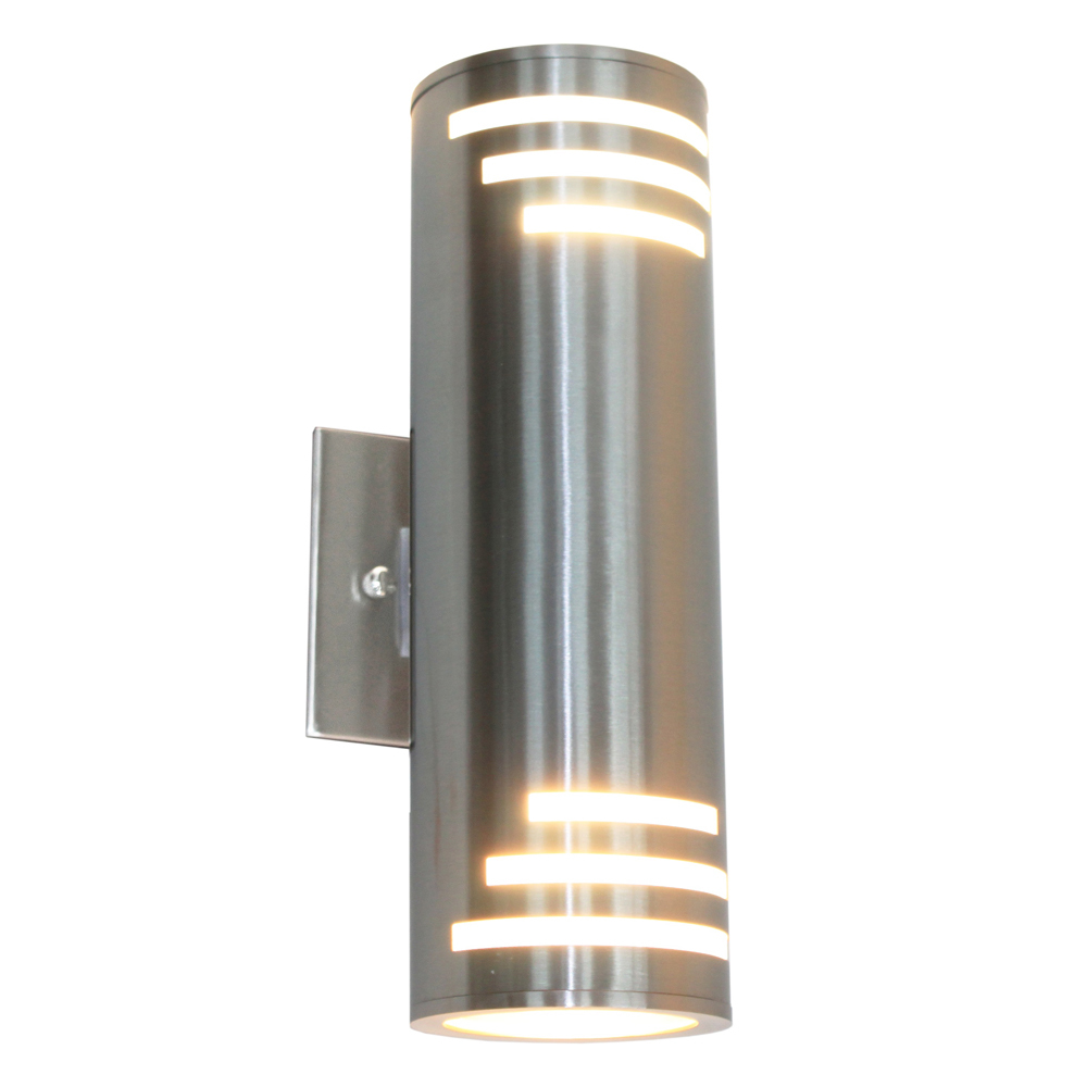 Details About Artcraft Lighting Ac8005ss Nuevo Outdoor Wall Light Stainless Steel