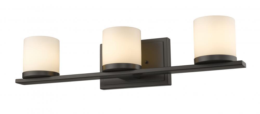 Yosemite Home Decor Vanity Lighting Family 4 Light Chrome: Z-Lite 1912-3V-BRZ Nori Bathroom Light, Bronze