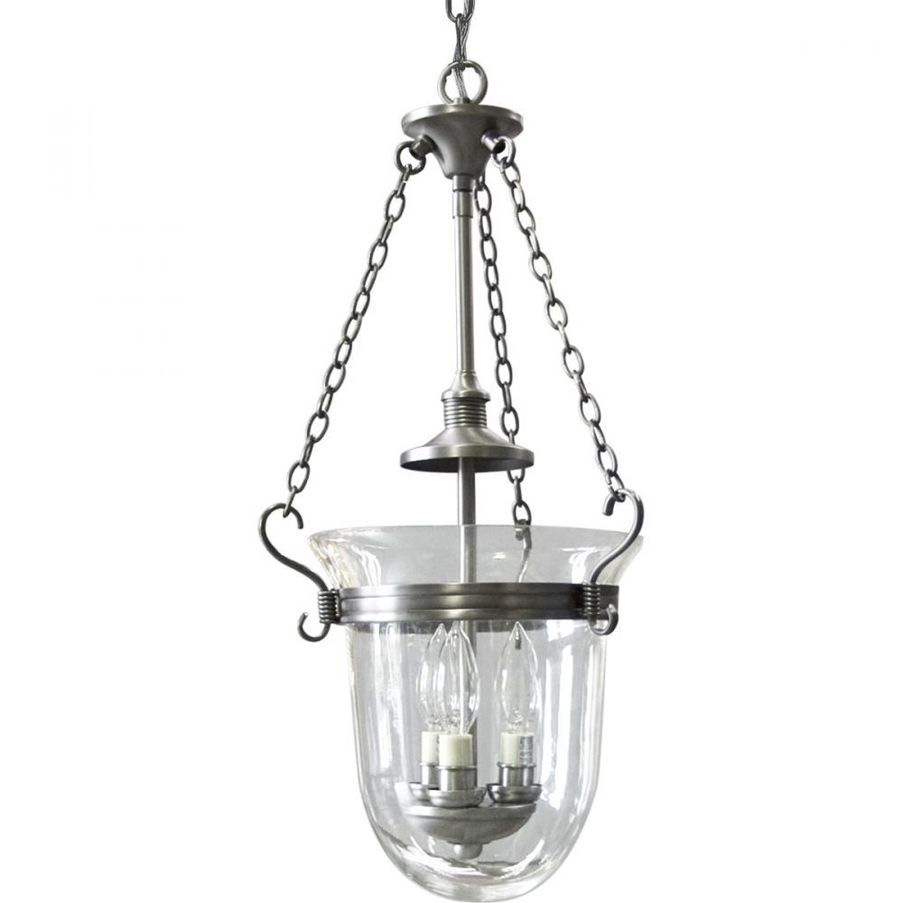 Details about progress lighting p3617 81 essex foyer pendant light antique nickel