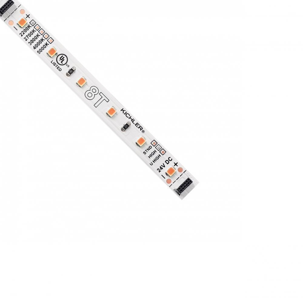 kichler 8t1033h22wh 8t tape light 33ft high 2200k
