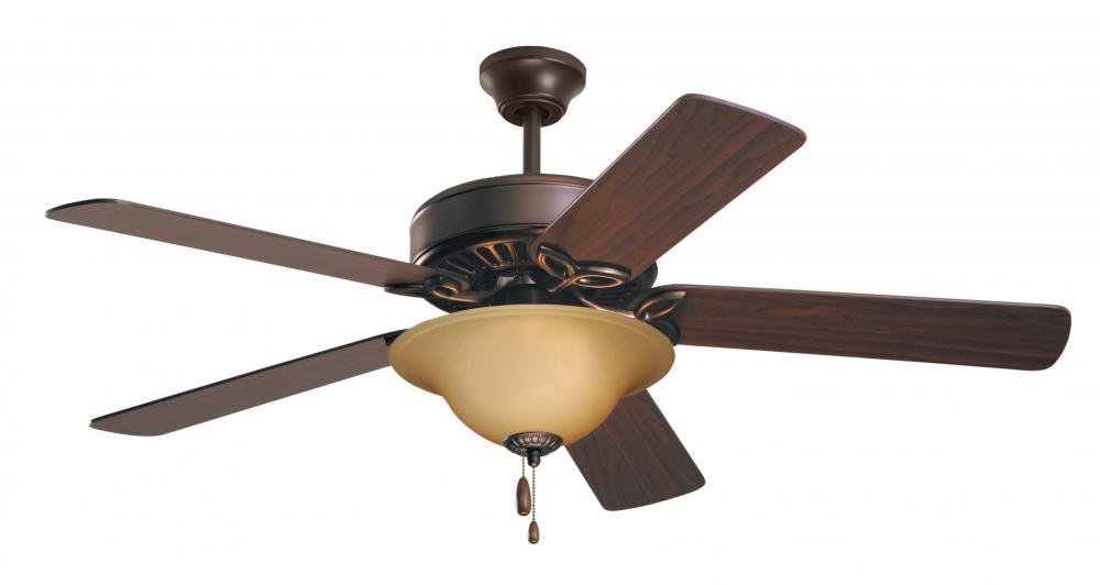 """Emerson CF712ORB Pro Series 50"""" Ceiling Fan - Light - Oil Ru"""