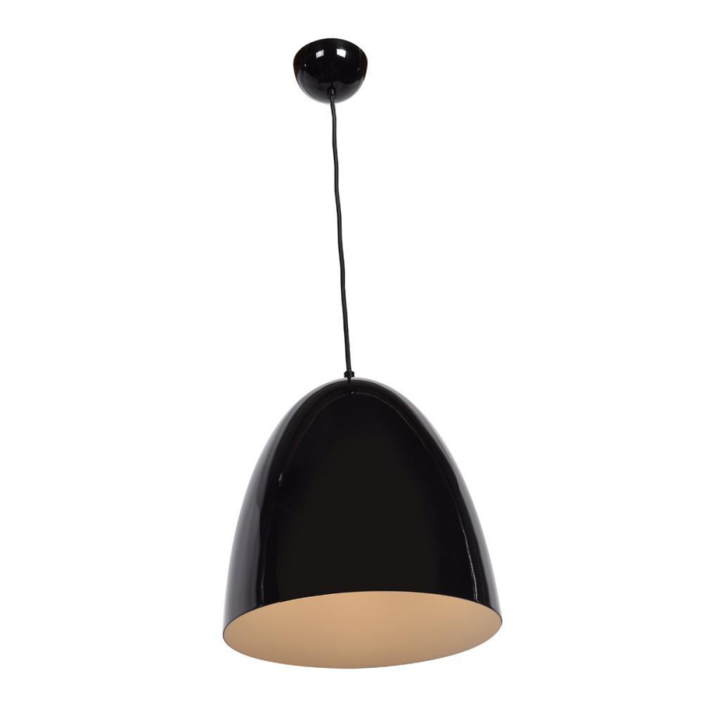 Details About Access Lighting 23776 Sbl Wht Nostalgia Drum Pendant Light Shiny Black