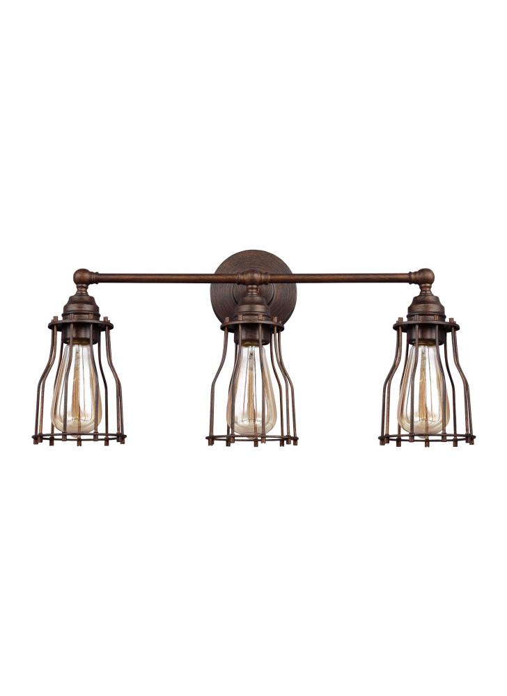 Feiss Lighting VS24003PRZ Calgary Bathroom Light, Parisian ...