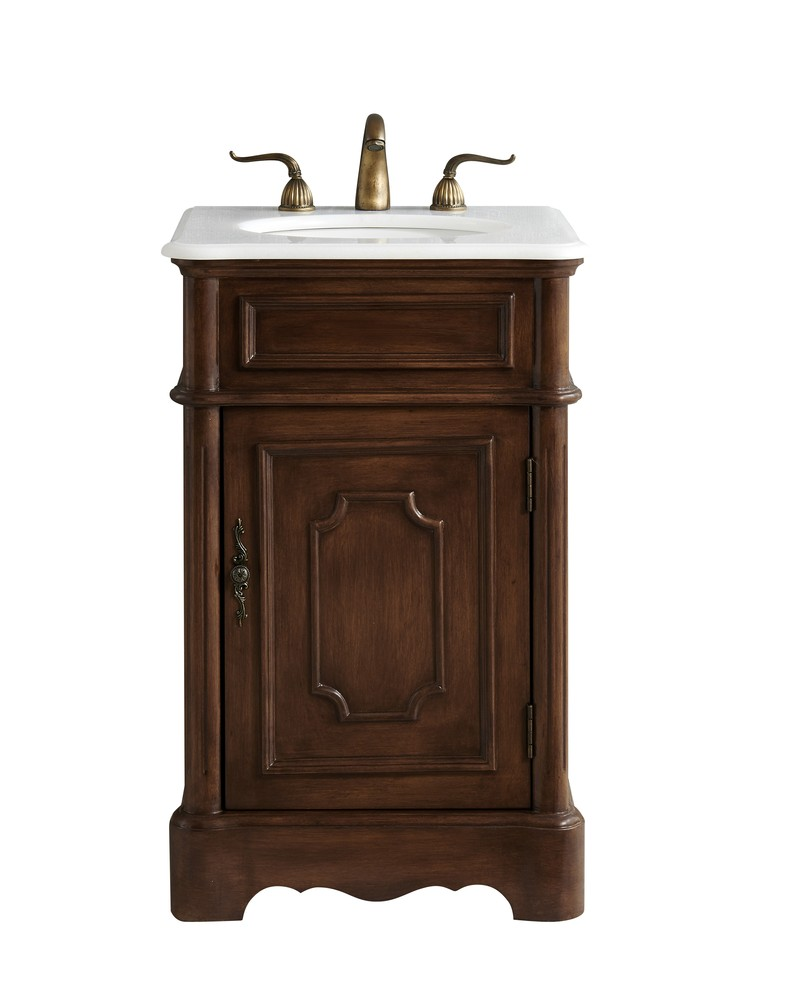 Phenomenal Details About Elegant Vf30421Tk 21 In Single Bathroom Vanity Set In Teak Download Free Architecture Designs Intelgarnamadebymaigaardcom