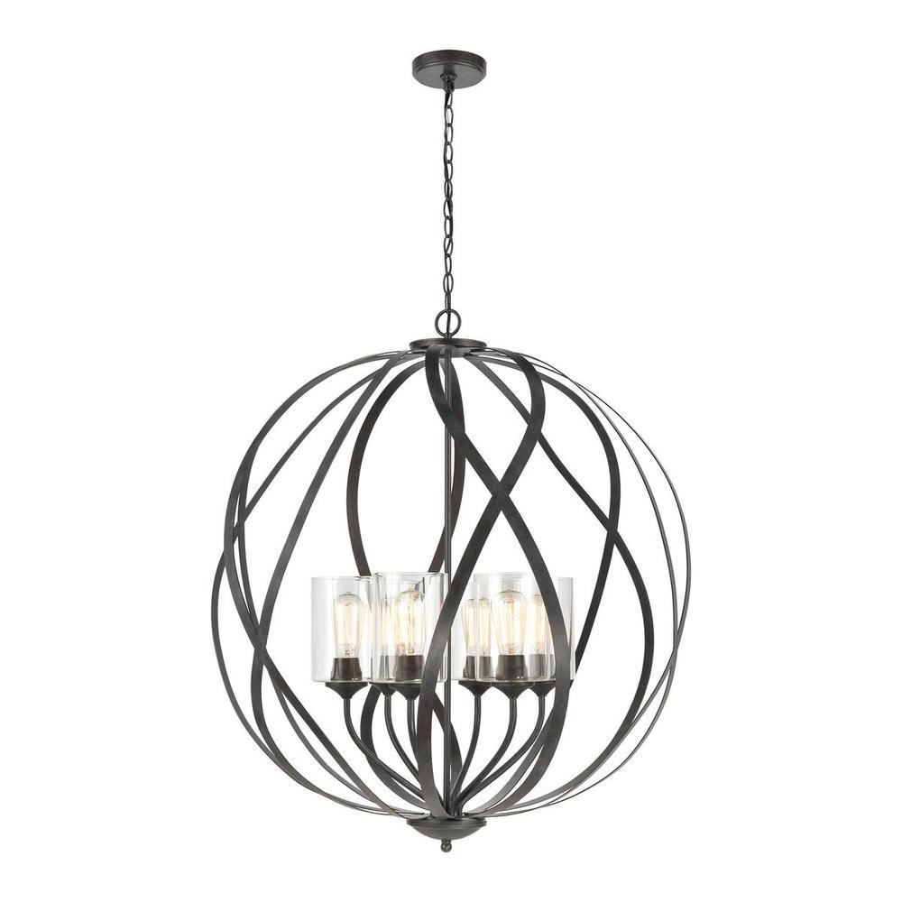 elk lighting 75096  6 daisy 6